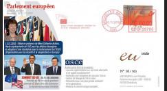 """BR110 : 2010 - FDC Bruxelles """"Renforcement de l'OSCE et Sommet UE-US"""""""