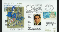 """PE265 : 1993 - FDC session du PE """"Discours du Président de la Tunisie"""