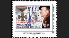 """DG10-16PSN : 2010 - TPP """"Libération de Lyon et Strasbourg - P. Staedel C.C.V. 1939-1945"""""""