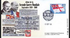"""WW39-09B : 2009 - Pli GB """"3.9.1939"""