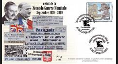 """WW39-09C1 : 2009 - Pli France """"3.9.39"""