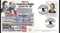"WW39-09C2 : 2009 - Pli FRA ""3.9.39"