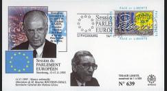 "PE312 : 14.11.95 - FDC Session PE ""Hommage à Yitzhak Rabin"