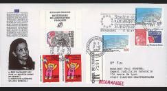 """PE354a : 17.12.97 - Pli RECO Session PE """"Prix Sakharov à S. Ghezali"""