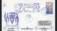 "11NAV-FR03 : 1.3.94 - Pli Marine Nationale française ""BATRAL L9032 DUMONT D'URVILLE"""