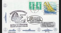 """11NAV-FR04 : 3.3.94 - Pli Marine Nationale française """"BATRAL L9034 LA GRANDIÈRE"""""""