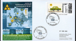 """PE602 : 2011 - FDC Parlement européen """"SECURITE NUCLEAIRE : désastre au Japon"""""""