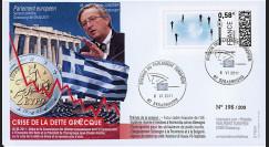 """PE604 : 2011 - FDC Parlement européen """"Crise de la Dette Grecque - M. Juncker"""