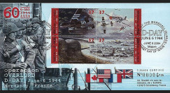 DEB 04-MAR : 2004 - FDC Iles Marshall (USA) D-Day - Overlord