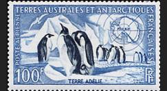 TAAF 3AV : 1956-59 - Timbre des Terres Australes et Antactiques Françaises