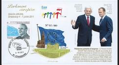 "PE605 : 2011 - FDC Parlement européen ""M. TUSK"