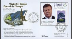 """CE62-III : 06-2011 - FDC Conseil de l'Europe """"Discours de M. Viktor IANOUKOVITCH"""