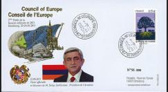 """CE62-IIIA : 06-2011 - FDC Conseil de l'Europe """"Discours de M. Serge SARKISSIAN"""