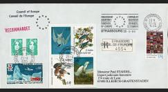 "CE46-IIa : 04-1995 - FDC RECO Conseil de l'Europe ""Discours de M. Lennart MERI"