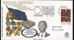 "PE285-SP : 05-1994 - FDC Conseil de l'Europe ""Discours de M. le Professeur Albert ZAFY"