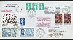 """CE47-Ia : 01-1996 - FDC RECO Conseil de l'Europe """"Débat Adhésion Russie"""""""