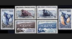 TAAF 2-7 : 1956 - Série TP Terres Australes et Antactiques Françaises