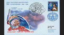 "GAGARIN11-3 : 04-2011 - FDC MONGOLIE ""Youri Gagarine - 50 ans 1er Homme dans l'Espace"""