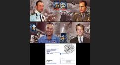 """GAGARIN11-4CM : 04-2011 - Série 4 CM MOLDAVIE """"Premiers Cosmonautes de l'Humanité"""""""