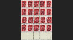 """MIR01-R01/4 : 2001 - Série 4 x 5 val. ex-URSS """"Roulette - Etoile Rouge"""
