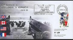 DEB 04-6 : 2004 - FDC D-Day - Omaha Beach