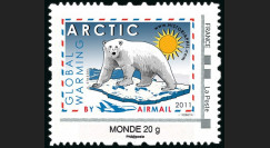 "A380-131N : 2011 - TPP France Monde 20g ""ARCTIC Global Warming / A380"" TEXTE ANGLAIS"