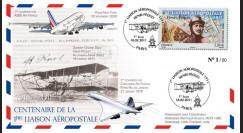 """A380-125 : 2011 - FFC (Pli) """"Centenaire 1ère Liaison Aéropostale 1911-2011"""" Paris"""