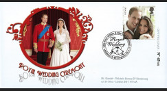 "WED11-1 : 2011 - FDC GRANDE-BRETAGNE ""Mariage Princier William & Kate"""