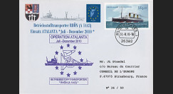 "ATALANTA-1 : 2010 - FDC Allemagne ""Opération ATALANTE-Somalie - pétrolier A 1443 RHÖN"""