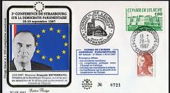 CE39 II : 1987 - 2e Conférence de Strasbourg sur démocratie parlementaire