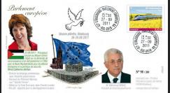 """PE607 : 09.2011 - FDC Parlement européen """"Processus de Paix au Moyen-Orient"""
