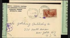"""W2-LIB0143 : 1943 - Pli """"H. Hadidian"""