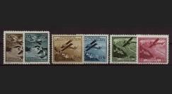 """AV-0106 : LIECHTENSTEIN Poste Aérienne 1930 """"Paysages"""" (YT 1/6)"""