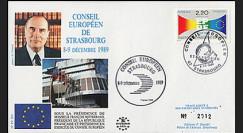 PE205 : 1989 - Présidence française de la CEE par le Pdt Mitterrand