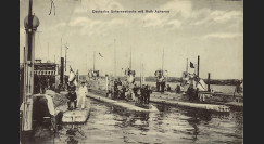 "W1-AL0146 : 1915 - CP ALLEMAGNE ""U-Boot Allemands U-11"