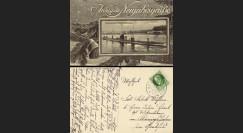 """W1-AL0141 : 1915 - CP ALLEMAGNE """"U-Boot - Nouvel An 1916"""""""