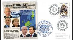 """PE608 : 10.2011 - FDC Parlement européen """"Crise de l'Eurozone - Mme Merkel"""