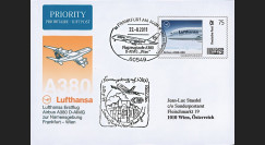 """A380-139 : 2011 - FFC ALLEMAGNE """"Vol de baptême A380 D-AIMG 'Wien' de la Lufthansa"""""""