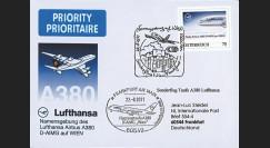 """A380-140 : 2011 - FFC AUTRICHE """"Vol de baptême A380 D-AIMG 'Wien' de la Lufthansa"""""""