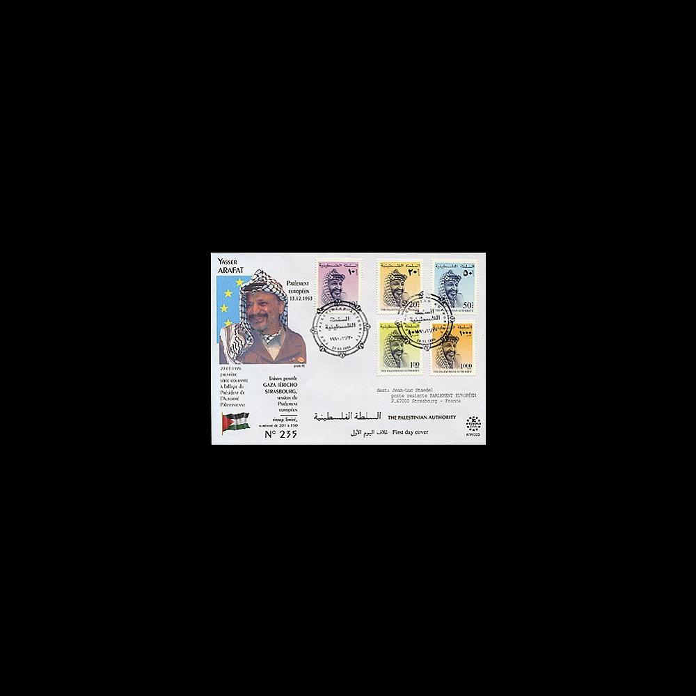 PE323 : 1996 - 1er Jour en l'honneur du Président Yasser Arafat