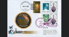 """LYBIE11-5 : 2011 - Pli USA """"Opération Odyssey Dawn Libye 2011 - USS Barry DDG 52"""""""