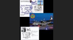 "LYBIE11-6 : 2011 - Carte ALLEMAGNE ""Transall C-160 - 50 ans Lufttransportgeschwader 63"""