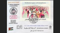 PE323A : 1996 1ères Elections Législatives et Présidentielles Palestiniennes