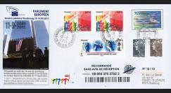 """PE606a : 2011 - FDC Recommandée PE """"10 ans de politique antiterroriste européenne"""""""