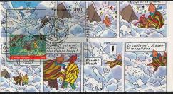 """TIN11-TS : 2011 FDC BELGIQUE """"TINTIN à L'ECRAN - Temple du Soleil"""" Braine L'Alleud TYPE 4"""