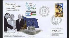 PE418 : 2000 - Discours Pdts Knesset et Conseil Législatif Palestinien