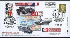 DEB 04-8 : 2004 D-Day - PA de Gaulle et USS Roosevelt aux cérémonies