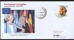 BR47 : 2001 - Visite officielle Pdt de l'Autorité Palestinienne