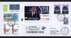 """CE62-Ia : 01.2011 - FDC Recommandée CE """"Discours de M. Gül"""