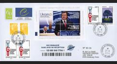 "CE62-IIIa : 06.2011 - FDC Recommandée CE ""Discours de M. Ianoukovitch"